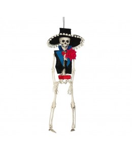 Esqueleto Colgante Mejicano 40cms