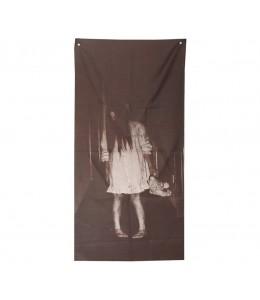 Decoracion Niña Fantasmas 160x75cms