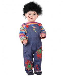 Disfraz de Muñeo Diabolico Bebe