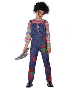 Disfraz de Muñeco Asesino Infantil