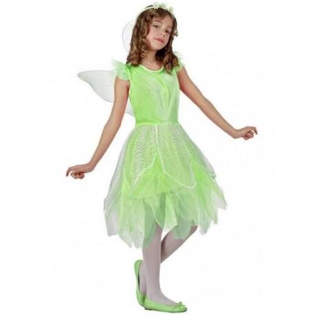 Disfraz de Hada Verde Infantil
