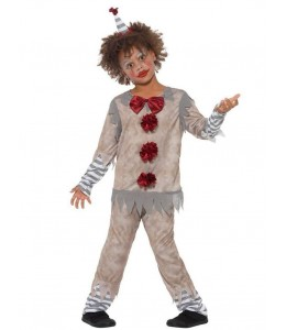 Disfraz de Payaso Asesino de Cine Infantil