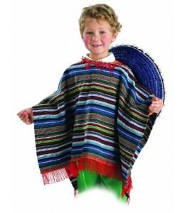 Poncho Mejicano Infantil
