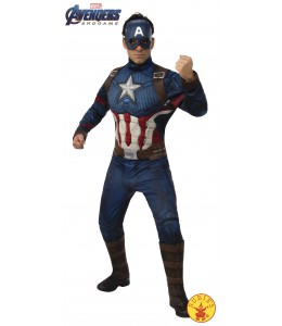 Disfraz de Capitan America Endgame DLX