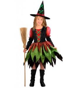 Disfraz de Bruja Colores Infantil