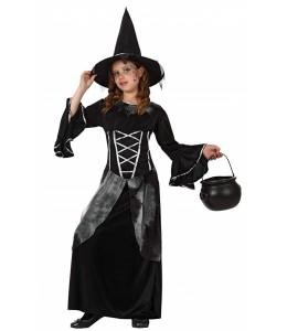 Disfraz de Bruja Negra Infantil