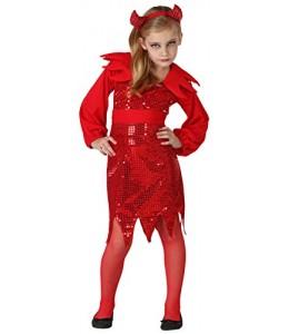 Disfraz de Diablesa Disco Infantil