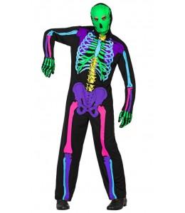 Esqueleto multicolor