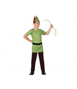 Disfraz de Arquero Robin Infantil