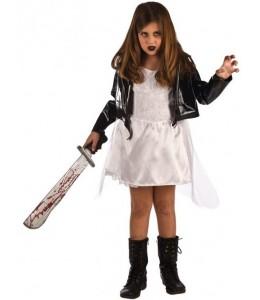 Disfraz de Novia Diabolica Infantil
