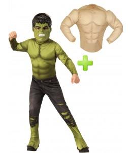 Disfraz de Hulk Endagame Classic Inf