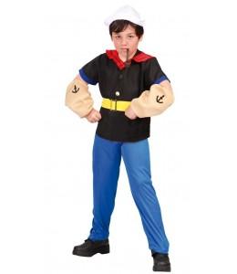 Disfraz de Marinero Musculoso Infantil