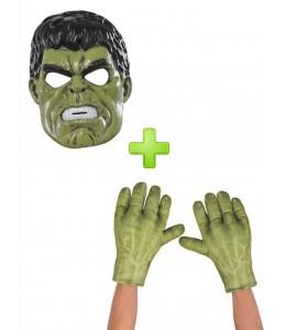 Mascara y Manos de Hulk