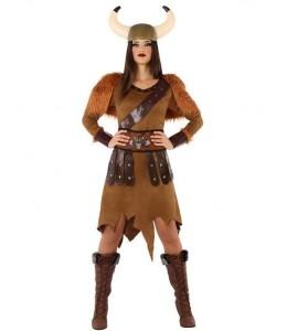 Disfraz de Vikinga Reina
