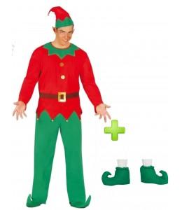 Disfraz de Elfo con babuchas