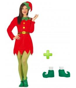 Disfraz de Elfa con babuchas