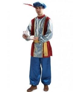 Disfraz de Paje Azul