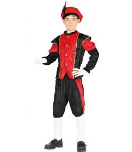 Disfraz de Paje Rojo Infantil