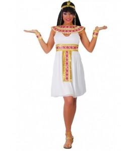 Disfraz de Egipcia Rosa Corto
