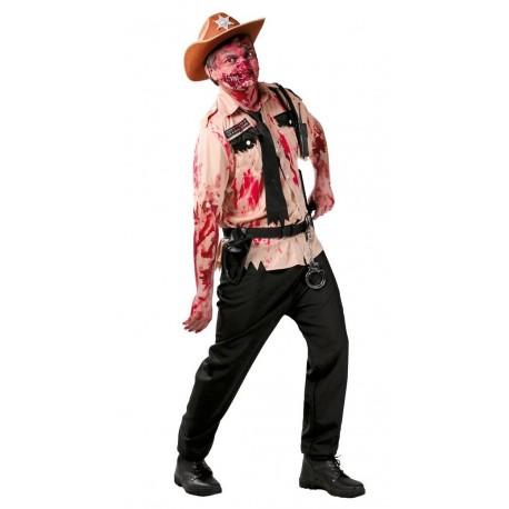 Disfraz de Policia Zombie