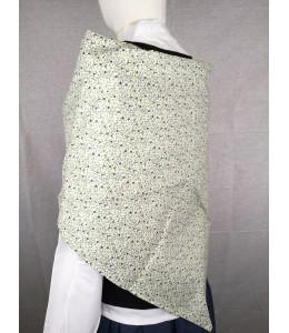 Pañuelo Casera Flores Mini verde fondo claro