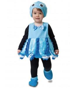 Disfraz de Pulpo Azul Bebe