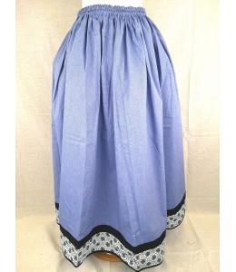 Falda Casera Azul Bies Eguzkilores