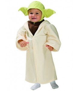 Disfraz de Yoda Bebe