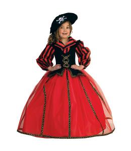 Disfra de Prindesa Corsaria Roja Deluxe