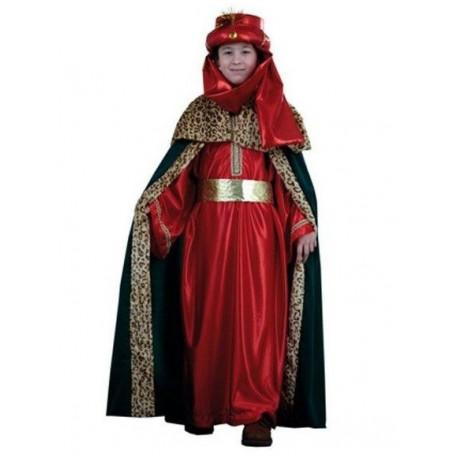 Rey Mago Rojo y Verde Infantil
