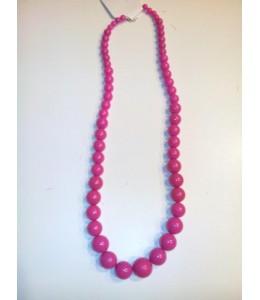 Collar Bolas Rosa