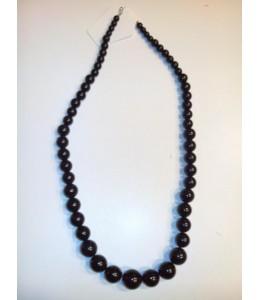 Collar Bolas Negro