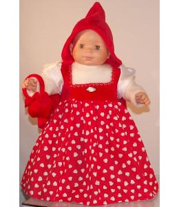 Disfraz de Caperucita Princesa Bebe