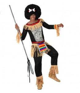 Disfraz de Zulu chico