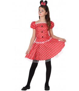 Disfraz de Ratita Minnie Infantil