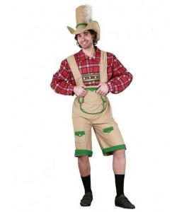 Disfraz de Tiroles Marron