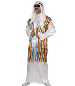Disfraz de Jeque Arabe Blanco