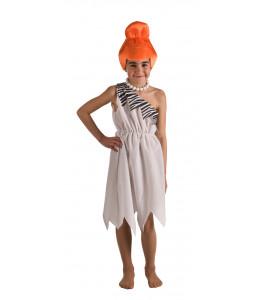 Disfraz de Cavernicola Blanca Infantil