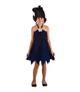Dfraz de Cavernicola Azul Infantil