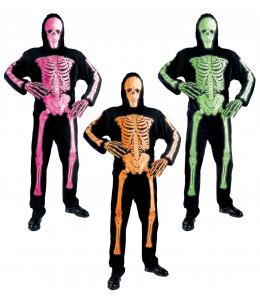 Disfraz de Esqueleto Neon Colores
