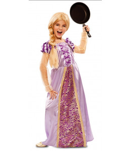 Disfraz de Princesa Morada infantil