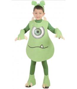 Disfraz de Monstruo Verde Infantil