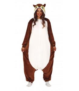 Disfraz de Ardilla Pijama Peluche