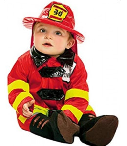 Disfraz de Bombero Bebe