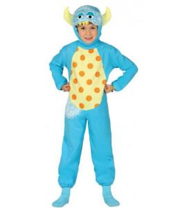 Disfraz de Monstruito Azul Infantil