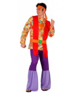 Disfraz de Hippie Morado