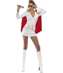 Disfraz de Elvis Chica