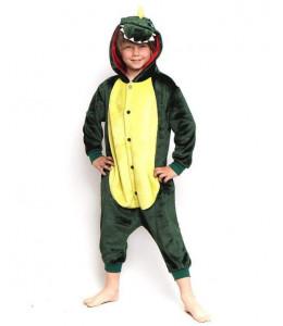 Disfraz de Dinosaurio o Dragon Pijama Peluche Inf