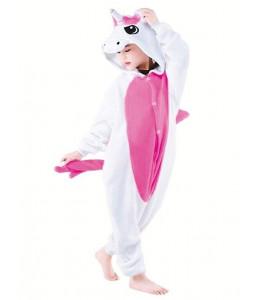 Disfraz de Unicornio Peluche Pijama Fucsia