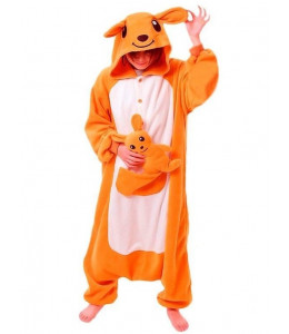 Disfraz de Canguro Pijama Peluche